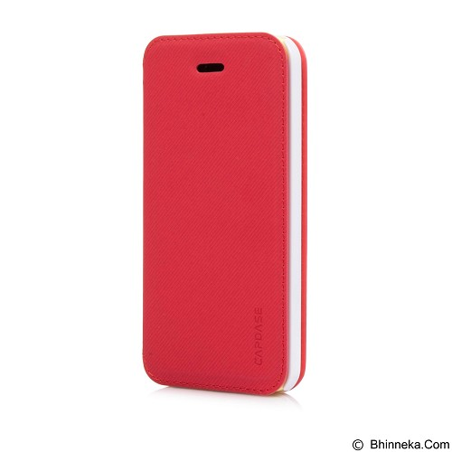 CAPDASE Sider Baco Folder Casing for iPhone 5C [FCIHM-SB92] - Red White (Merchant) - Casing Handphone / Case