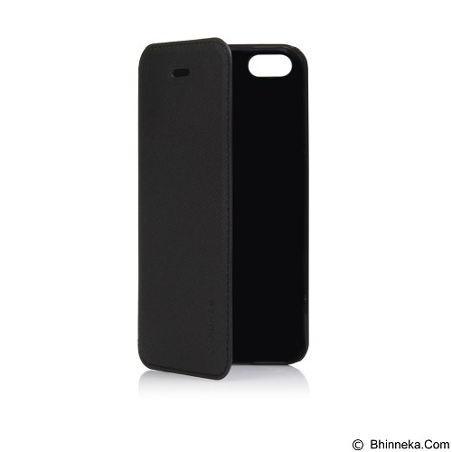 CAPDASE Sider Baco Folder Casing for iPhone 5c [FCIHM-SB11] - Solid Black (Merchant) - Casing Handphone / Case