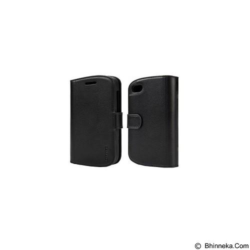 CAPDASE Sider Class Folder Casing for Blackberry 9720 - Black [FCBB9720-S411-BB] - Black (Merchant) - Casing Handphone / Case