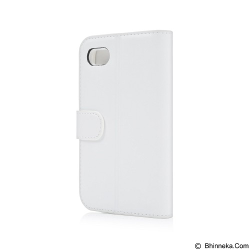 CAPDASE Sider Classic Folder Casing for Blackberry Q5 [FCBBQ5-SC22-BB] - White (Merchant) - Casing Handphone / Case