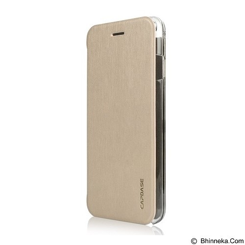 CAPDASE Sider Slim for iPhone 6 Plus [FCIH655-1SC0] - Champagne Gold Clear - Casing Handphone / Case