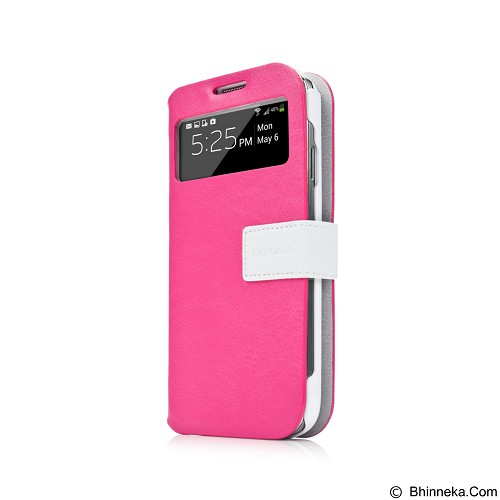 CAPDASE Smart Folder Sider Id Belt Casing for Samsung Galaxy S4 Mini - Pink (Merchant) - Casing Handphone / Case