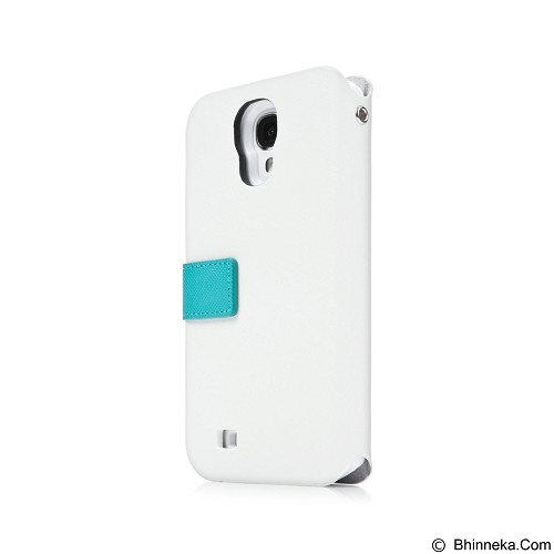 CAPDASE Smart Folder Sider Id Belt Casing for Samsung Galaxy S4 Mini - White (Merchant) - Casing Handphone / Case