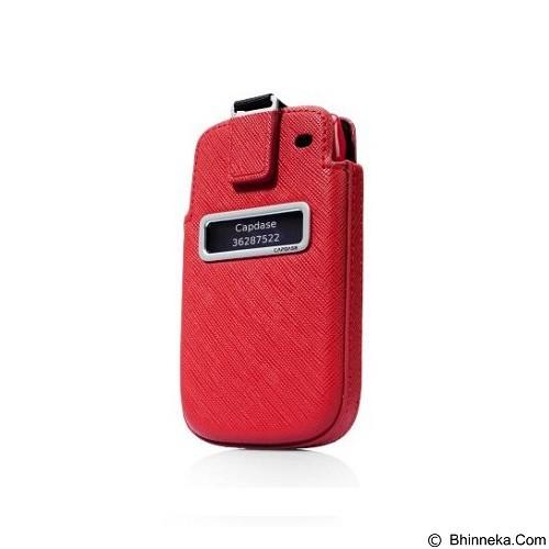 CAPDASE Smart Pocket Value Blackberry 9790 [SLBB9790-V199] - Red (Merchant) - Casing Handphone / Case