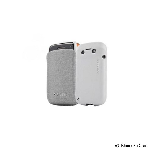 CAPDASE Smart Pocket Value Set Posh Casing for 9900 [SLBB9900-V3GG] - Grey (Merchant) - Casing Handphone / Case