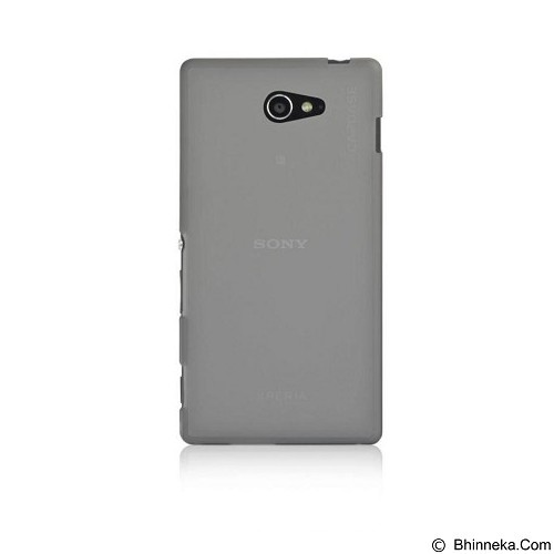 CAPDASE Soft Case Sony Xperia M2 Dual Tinted Blk Softjacket [SJSYD2302-P201] - Casing Handphone / Case