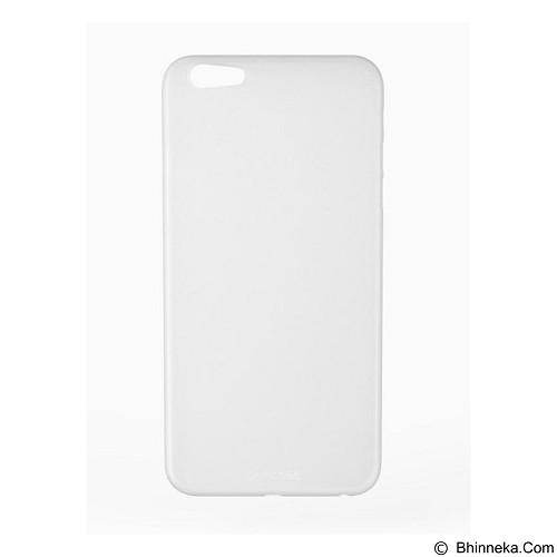 CAPDASE Soft Case iPhone 6 Plus / iPhone 6S Plus Posh Slim Fit [SJIH6PS-PF0S] - White (Merchant) - Casing Handphone / Case