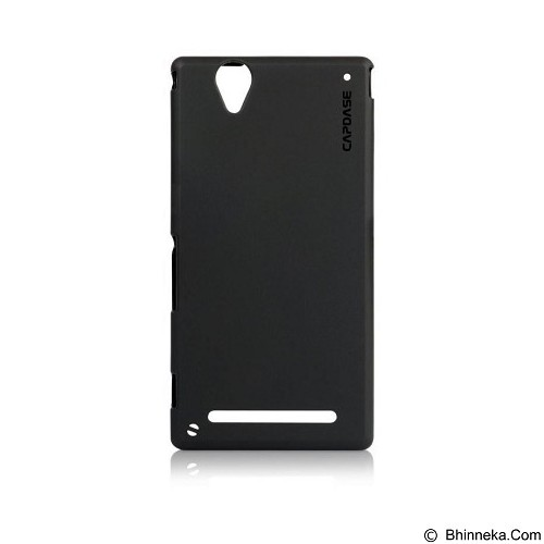 CAPDASE Soft Jacket Case Sony Xperia T2 Ultra Solid [SJSYD5322-P2Y1] - Black - Casing Handphone / Case