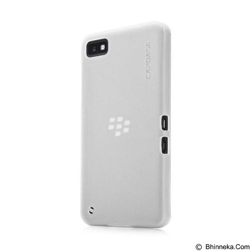 CAPDASE Soft Jacket Casing for Blackberry Z30 - Tinted White (Merchant) - Casing Handphone / Case