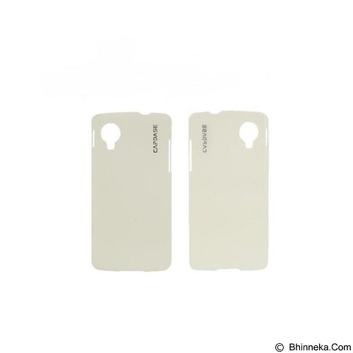 CAPDASE Soft Jacket Casing for LG Google Nexus 5 D821 [SJLGNX5-P202] - White (Merchant) - Casing Handphone / Case