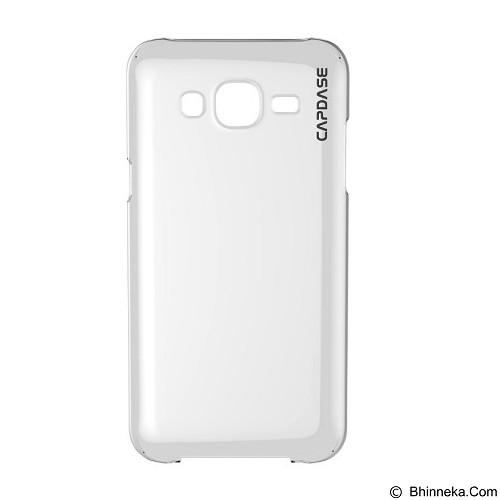 CAPDASE Soft Jacket Casing for Samsung Galaxy J5 2016 [SJSGJ516-P6C0] - Clear (Merchant) - Casing Handphone / Case