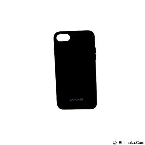 CAPDASE Soft Jacket Fuze Case for iPhone 7 Plus [SJIH7P-5FB1] - Solid Black (Merchant) - Casing Handphone / Case