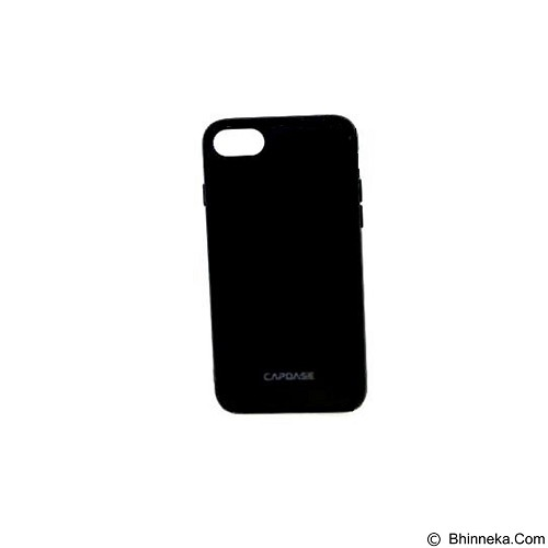 CAPDASE Soft Jacket Fuze Case for iPhone 7 [SJIH7-5FB1] - Solid Black (Merchant) - Casing Handphone / Case