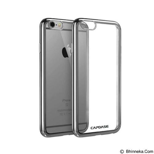 CAPDASE Soft Jacket Fuze Case for iPhone 7 [SJIH7-5FC1] - Clear Black (Merchant) - Casing Handphone / Case