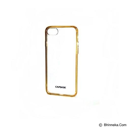 CAPDASE Soft Jacket Fuze Case for iPhone 7 [SJIH7-5FCC] - Clear Gold (Merchant) - Casing Handphone / Case