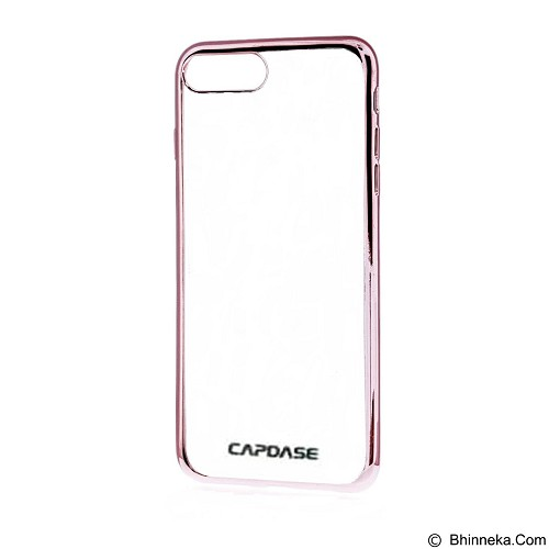 CAPDASE Soft Jacket Fuze Case for iPhone 7 [SJIH7-5FCP] - Clear Rose Gold (Merchant) - Casing Handphone / Case