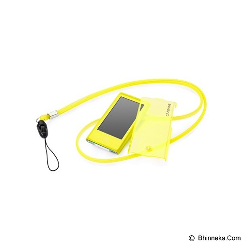 CAPDASE Soft Jacket Value Set Casing for Apple iPod Nano 7 [SJIPN7-VBEE] - Yellow (Merchant) - Casing Mp3 Player / Case