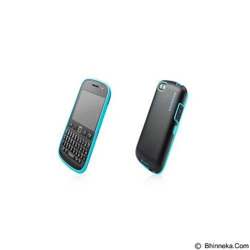 CAPDASE Soft Jacket Vika Casing BlackBerry 9720 [SJBB9720-VK13] - Black Blue (Merchant) - Casing Handphone / Case