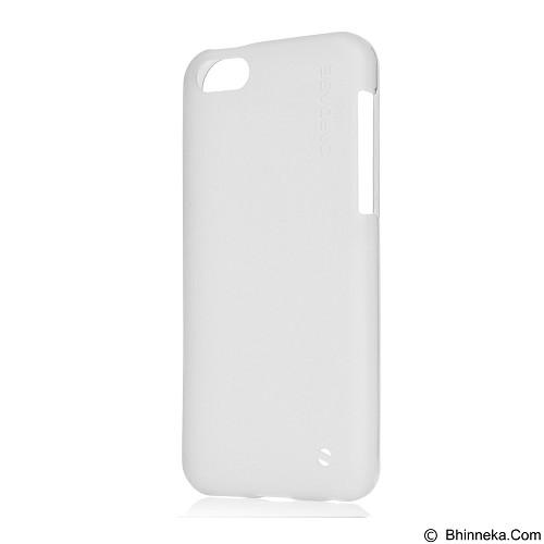 CAPDASE Soft Jacket Xpose Case for Apple iPhone 5C [SJIHM-P202] - Tinted White (Merchant) - Casing Handphone / Case