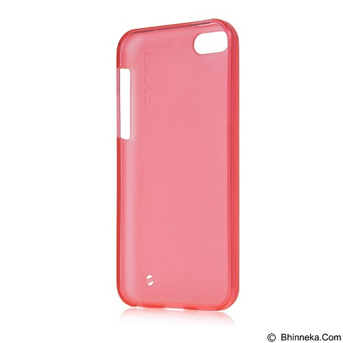 CAPDASE Soft Jacket Xpose Case for Apple iPhone 5C [SJIHM-P209] - Tinted Red (Merchant) - Casing Handphone / Case