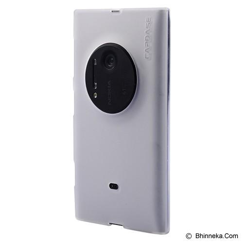 CAPDASE Soft Jacket for Nokia Lumia 1020 - White - Casing Handphone / Case