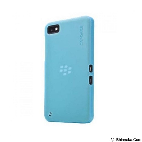 CAPDASE Softcase Casing for Blackberry Z10 Lamina - Blue (Merchant) - Casing Handphone / Case