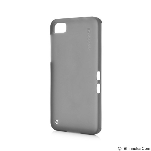 CAPDASE Softcase Casing for Blackberry Z10 Lamina - Tinted Black (Merchant) - Casing Handphone / Case