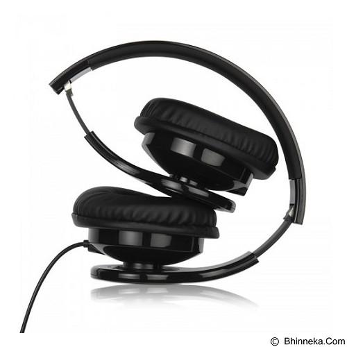 CAPDASE T-Bass Headphone [HP00-T001] - Black - Headphone Portable