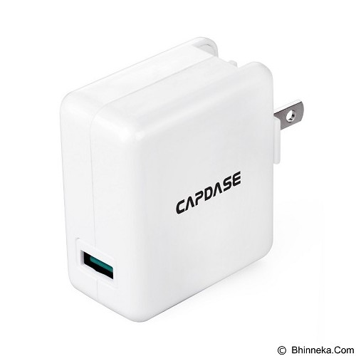CAPDASE USB Ranger Qc 2 Wall Charger - White (Merchant) - Charger Handphone