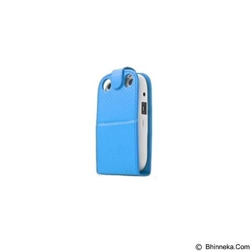 CAPDASE Upper Polka Folder Casing for BlackBerry 9320 [FCBB9320-UP3G-BB+] - Blue (Merchant) - Casing Handphone / Case