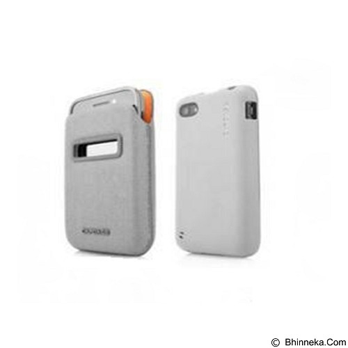 CAPDASE Value Set Id Pocket Casing for BlackBerry Q5 [DPBBQ5-V3GG-BB] - Grey (Merchant) - Casing Handphone / Case