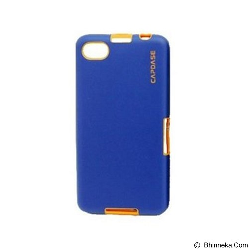 CAPDASE Vika Soft Jacket Casing for BlackBerry Z30 - Blue Orange (Merchant) - Casing Handphone / Case