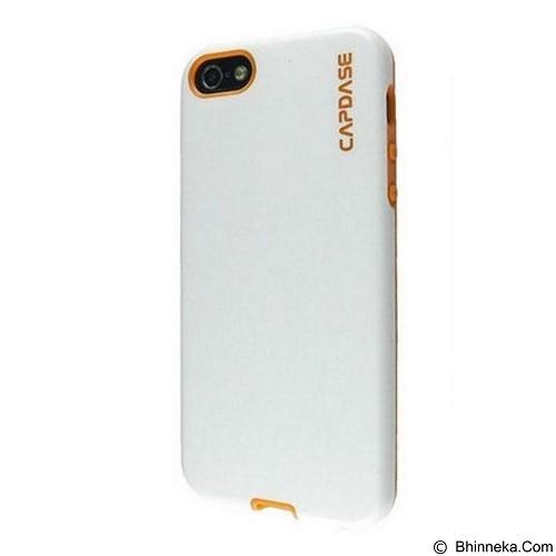 CAPDASE Vika Soft Jacket Casing for BlackBerry Z30 - White Orange (Merchant) - Casing Handphone / Case