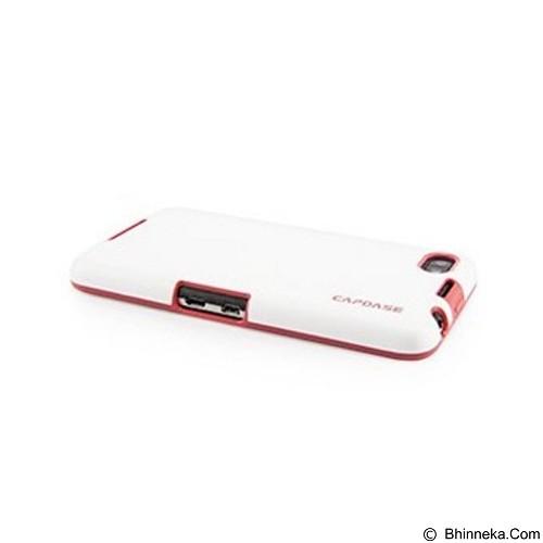 CAPDASE Vika Soft Jacket Casing for BlackBerry Z30 - White Red (Merchant) - Casing Handphone / Case