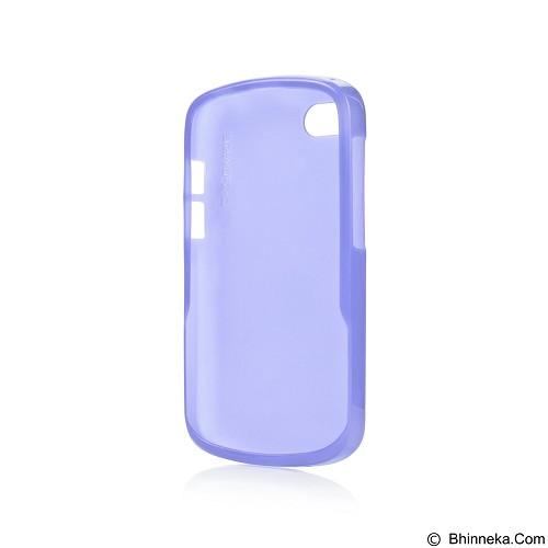 CAPDASE Xpose Tinted Jacket Softcase BlackBerry Q10 [SJBBQ10-P203] - Blue (Merchant) - Casing Handphone / Case
