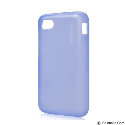 CAPDASE Xpose Tinted Jacket Softcase BlackBerry Q5 [SJBBQ5-P203] - Blue (Merchant) - Casing Handphone / Case