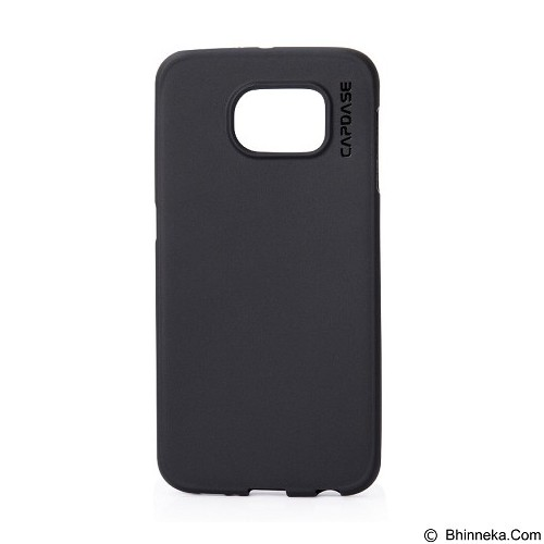 CAPDASE Xpose for Samsung Galaxy S6 [SJSGS6-P6Y1] - Solid Black - Casing Handphone / Case