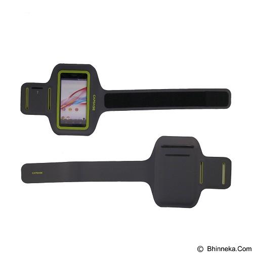 CAPDASE Zonic 145A Universal Sports Armband - Black Yellow (Merchant) - Arm Band / Wrist Strap Handphone