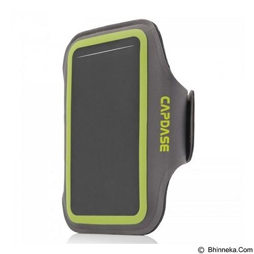 CAPDASE Zonic Plus 126A Sports Armband [AB00P126A-13G6] - Grey Green - Arm Band / Wrist Strap Handphone