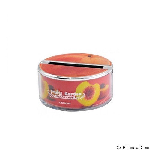 CARMATE Fruits Garden Air Freshener - Peach (Merchant) - Pengharum Mobil