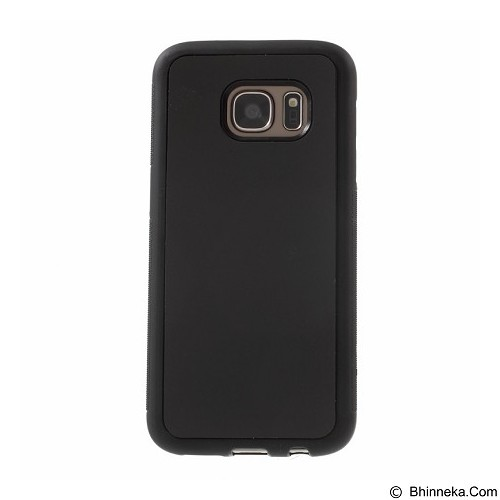 CASE Anti-Gravity Cover Magical Sticky Soft Shell For Samsung Galaxy S7 Plus - Black (Merchant) - Casing Handphone / Case