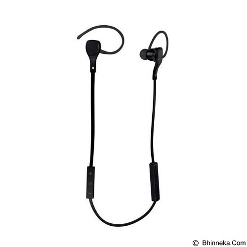 CASHONIT Sport Bluetooth Earphone with Microphone BTH06 [CSI-OMSK3ABK] - Black - Headset Bluetooth
