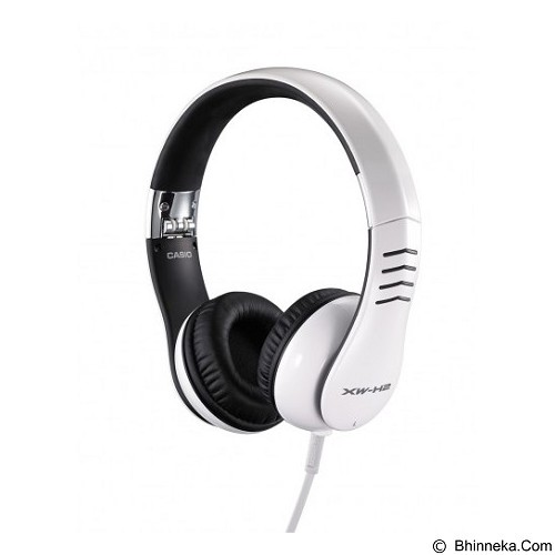 CASIO Headphone Series [XW-H2] - White - Headphone Portable