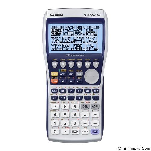 CASIO Kalkulator [FX-9860GII SD] - Kalkulator Scientific