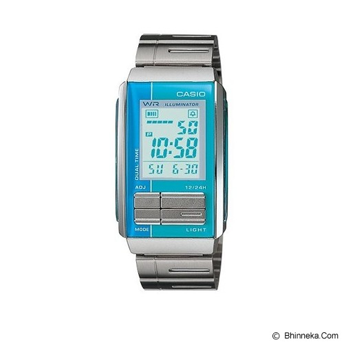 CASIO Ladies Futurist [LA-201W-2A2UDF] - Jam Tangan Wanita Fashion