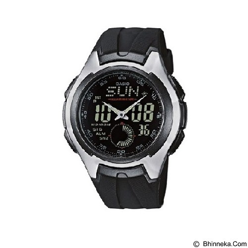 CASIO Man Combination [AQ-160W-1BVDF] - Jam Tangan Pria Casual