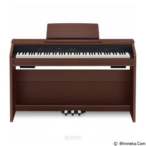 CASIO Privia Digital Piano [PX 860] - Brown - Digital Piano