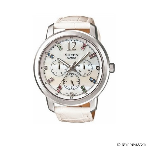 CASIO Sheen [SHE-3802L-7ADR] - Jam Tangan Wanita Casual