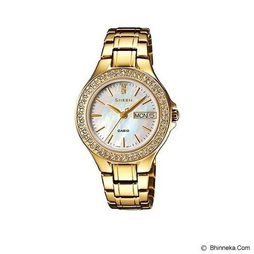 CASIO Sheen [SHE-4800G-7AUDR] - Jam Tangan Wanita Fashion