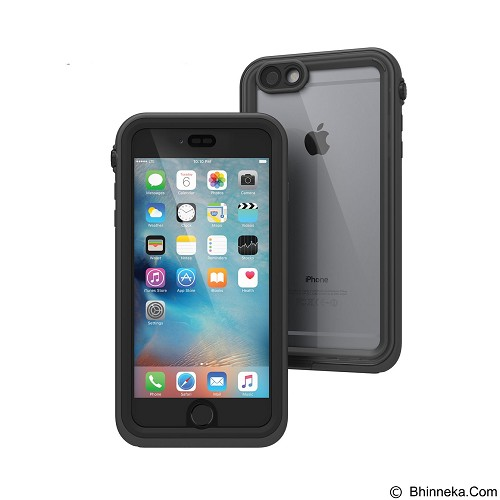 CATALYST Case for Apple iPhone 6 Plus / 6s Plus [CATAIPHO6SPBLK] - Black & Space Gray - Casing Handphone / Case